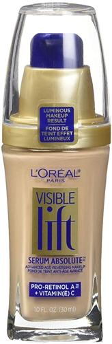 L'Oreal Paris Visible Lift Serum Absolute Foundation   40plusstyle.com