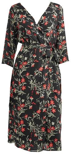 classic women's wrap dresses   40plusstyle.com