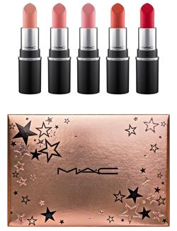 MAC Wish Upon Stars mini lipstick set   40plusstyle.com