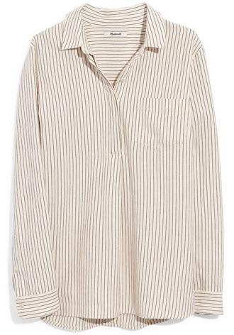Madewell shirt | 40plusstyle.com
