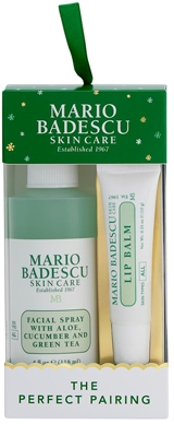 Mario Badescu Facial Spray & Lip Balm Ornament Duo  | 40plusstyle.com