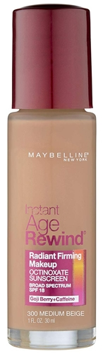 Maybelline New York Instant Age Rewind Radiant Firming Makeup | 40plusstyle.com