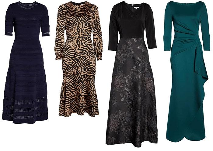 Long and midi dresses | 40plusstyle.com
