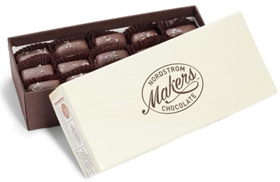 Nordstrom Makers Chocolate dark chocolate sea salt caramels | 40plusstyle.com