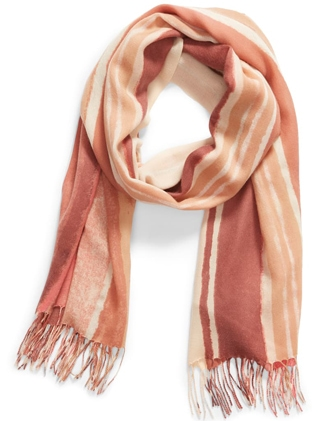 Nordstrom wool & cashmere wrap scarf