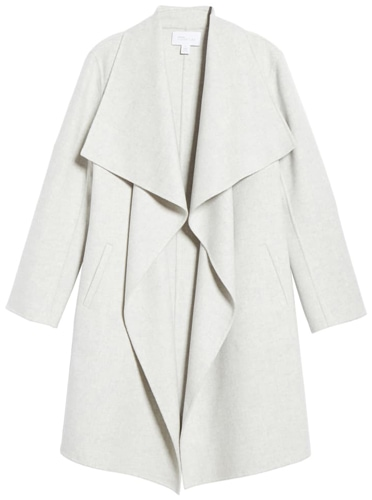 Nordstrom Signature wool & cashmere coat | 40plusstyle.com