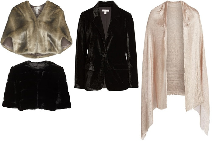 Outerwear for a wedding on winter | 40plusstyle.com