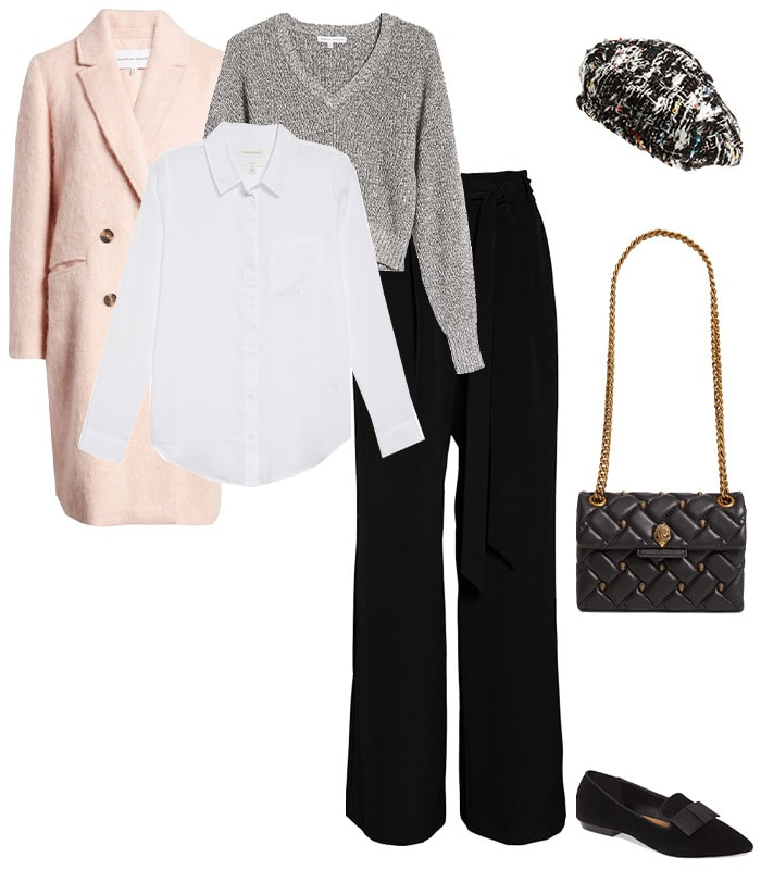 how to layer in winter to put together winter outfits for women | 40plusstyle.com