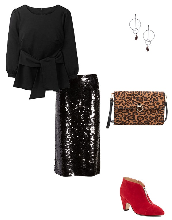 NYE outfits with sequins | 40plusstyle.com