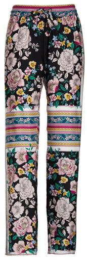 PJ Salvage floral print pajama pants | 40plusstyle.com