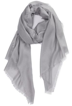 Nordstrom cashmere & silk scarf | 40plusstyle.com