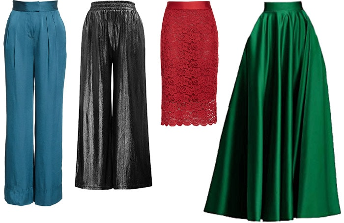 Pants and skirts to wear to a wedding | 40plusstyle.com