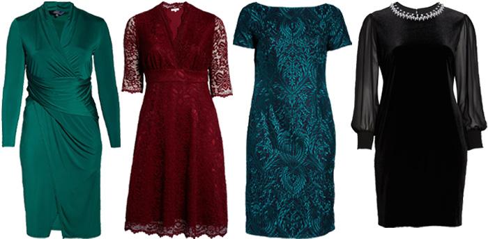 Plus size cocktail dresses | 40plusstyle.com