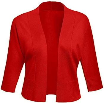shrugs and boleros for evening dresses: AAMLIFE cropped shrug | 40plusstyle.com