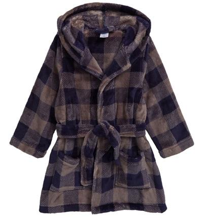 Christmas gift ideas for kids: Tucker + Tate hooded plush robe | 40plusstyle.com