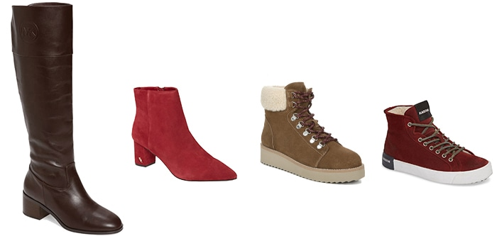 cold weather shoes and boots | 40plusstyle.com