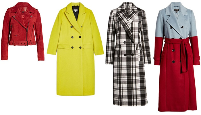 Winter outfits for women: colorful statement jackets | 40plusstyle.com