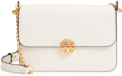 Tory Burch 'Chelsea' leather crossbody bag | 40plusstyle.com
