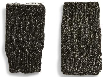 Treasure & Bond fleece lined fingerless gloves | 40plusstyle.com