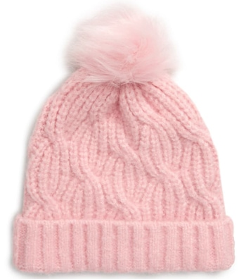 Christmas gift ideas for kids: Tucker + Tate pompom stitch beanie | 40plusstyle.com