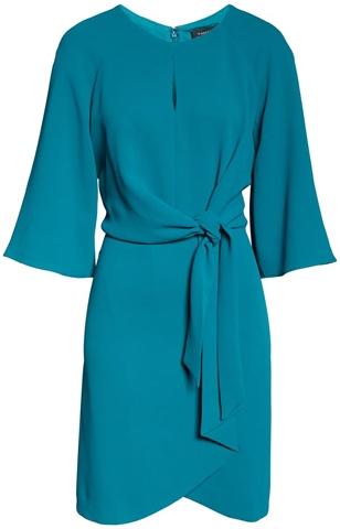 Tahari sheath dress | 40plusstyle.com