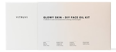 Vitruvi Glowy Skin DIY Face Oil kit | 40plusstyle.com