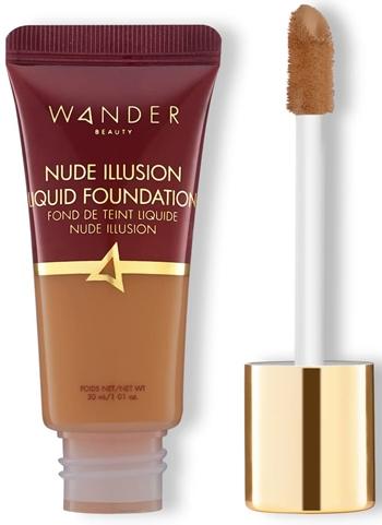Best foundation for mature skin - Wander Beauty Nude Illusion Liquid Foundation   40plusstyle.com