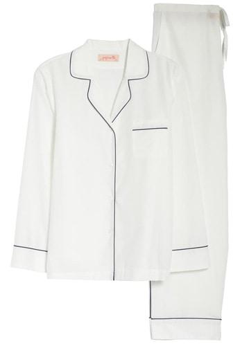 Papinelle cotton & silk pajamas | 40plusstyle.com