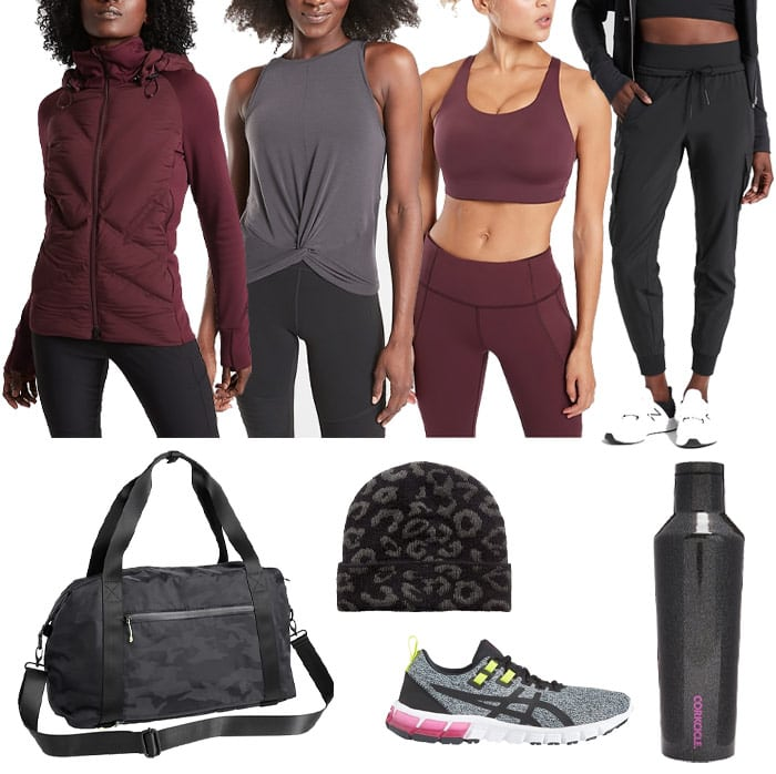 Workout clothing from Athleta | 40plusstyle.com