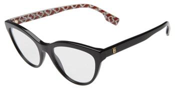 Burberry 53mm cat eye optical glasses | 40plusstyle.com