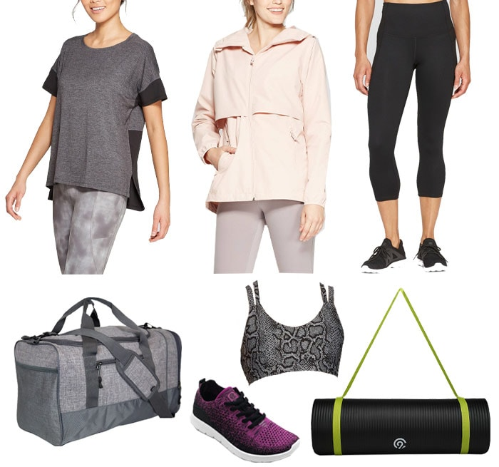 Workout clothes from C9 Champion from Target | 40plusstyle.com