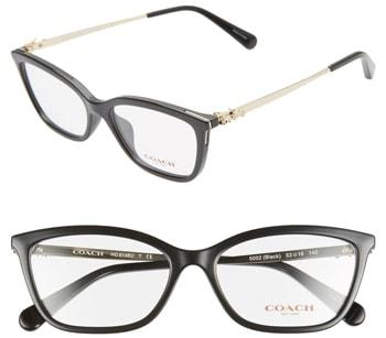 COACH optical glasses | 40plusstyle.com