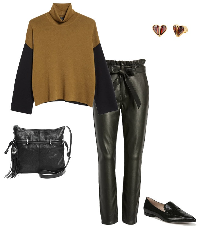 What to wear to a concert - anything in leather | 40plusstyle.com