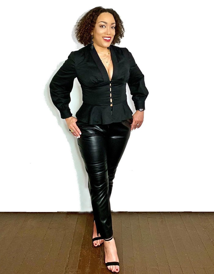 Leather pants for women over 40   40plusstyle.com