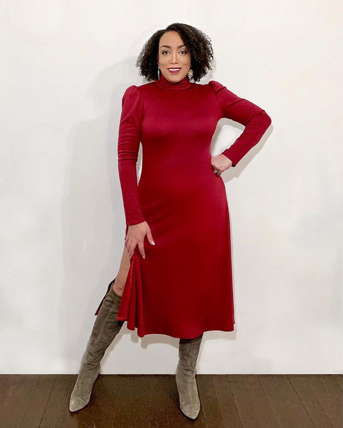Red dresses for women over 40   40plusstyle.com