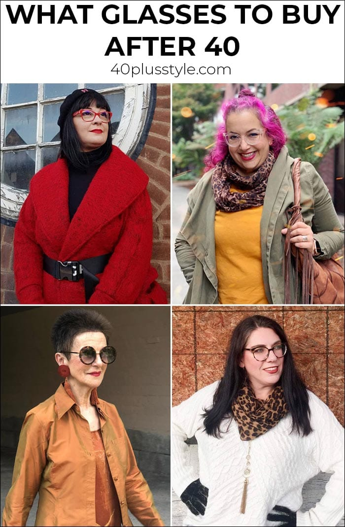What glasses to buy after 40 | 40plusstyle.com