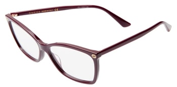Gucci 56mm optical glasses | 40plusstyle.com
