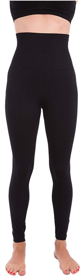 Homma high waist compression slimming leggings   40plusstyle.com