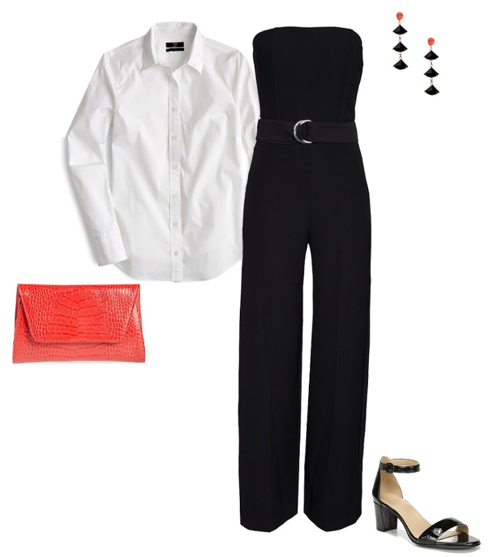 A white shirt layered under anything | 40plusstyle.com