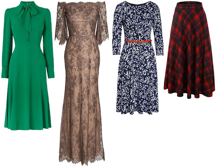 Dresses and skirt inspired by Kate Middleton | 40plusstyle.com