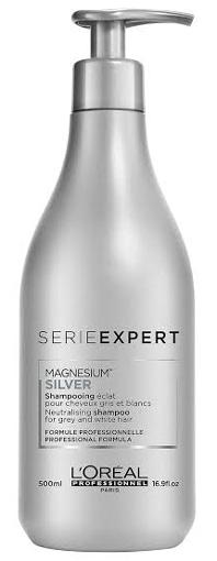 L'Oréal Serie Expert Magnesium Silver Neutralising Shampoo | 40plusstyle.com