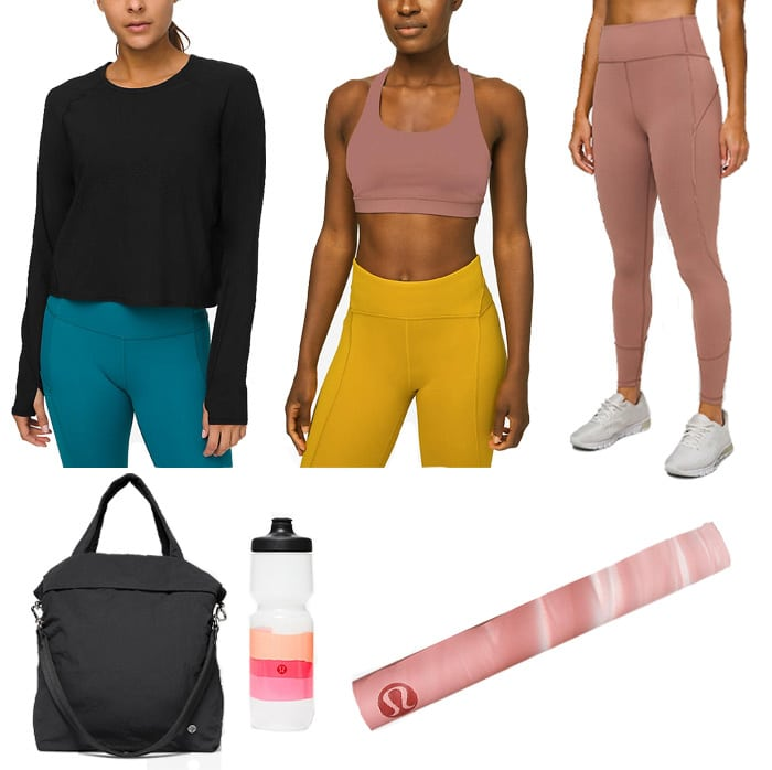 Best workout clothes from Lululemon | 40plusstyle.com