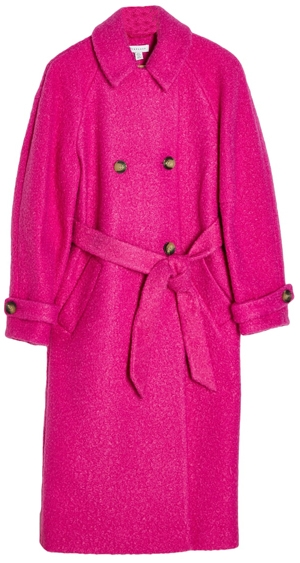 Topshop trench coat | 40plusstyle.com