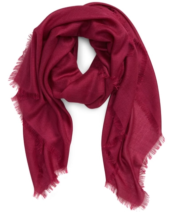 Nordstrom Cashmere & Silk Scarf | 40plusstyle.com