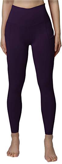 Tummy control leggings: ODODOS high waist yoga pants   40plusstyle.com