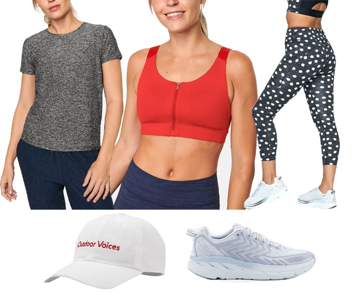 Workout clothing from Outdoor Voices | 40plusstyle.com