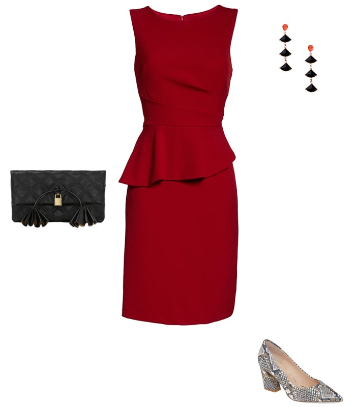 A sheath dress with pumps | 40plusstyle.com