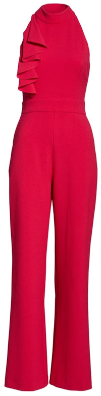 Eliza J wide leg jumpsuit | 40plusstyle.com