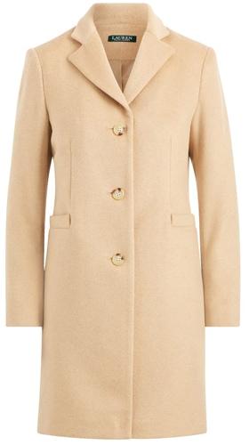 Lauren Ralph Lauren reefer coat | 40plusstyle.com