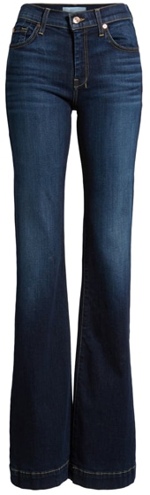 7 For All Mankind Dajo Wide Leg Jeans